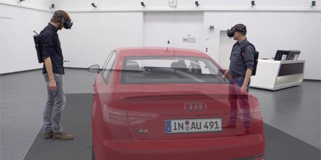 Holodeck Audi ingénieurs HCC