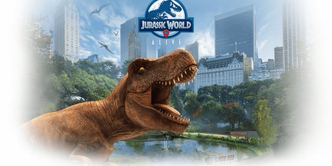 jurassic world alive ar