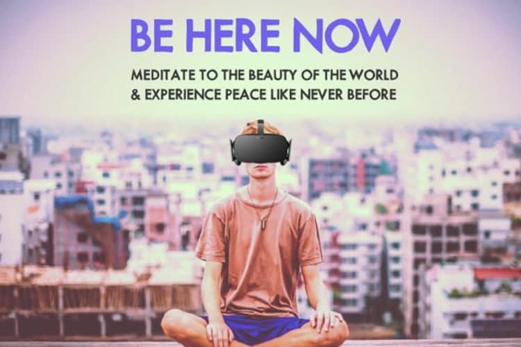 Méditation réalité virtuelle yoga VR relaxation zen
