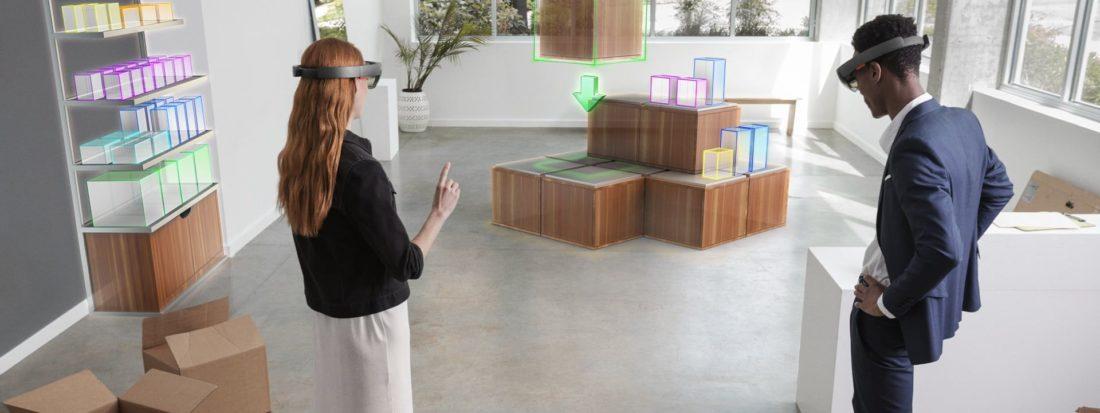 microsoft hololens espaces