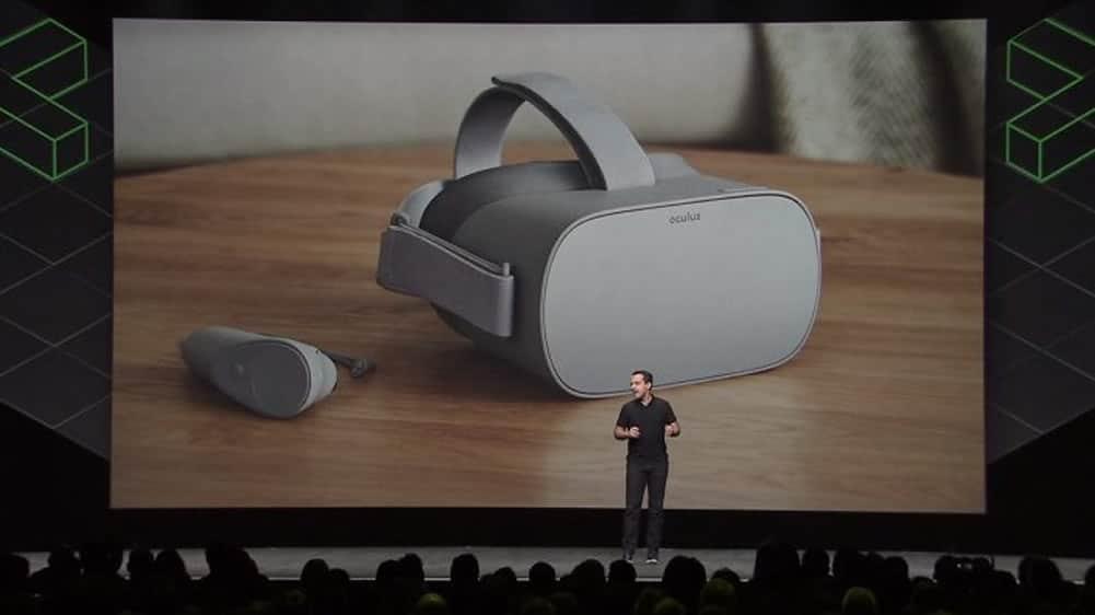 Oculus GO taux de rafraîchissement de 72 Hz Santa Cruz