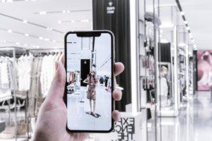 Présentation de la réalité augmentée par Zara