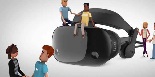 Réseau social réalité virtuelle VR application