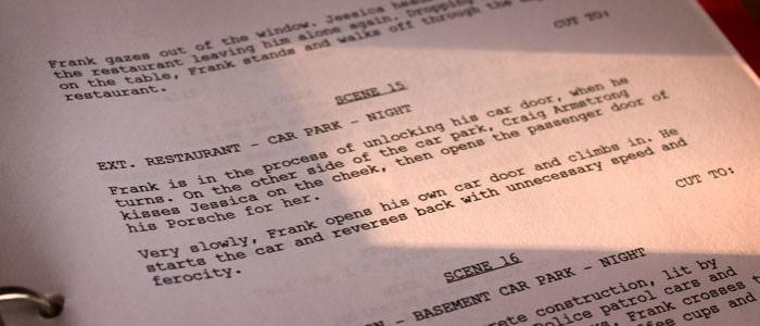 script écriture