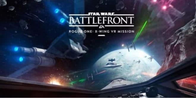 Star Wars X-Wings Réalité virtuelle