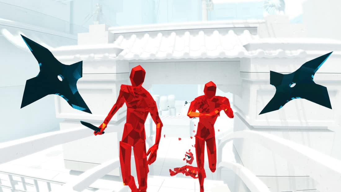 superhot vr gdc nomination 2