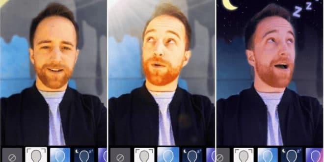 YouTube réalité augmentée remplace fond vert