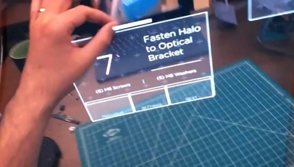Le génial bureau interactif en réalité augmentée de Leap Motion