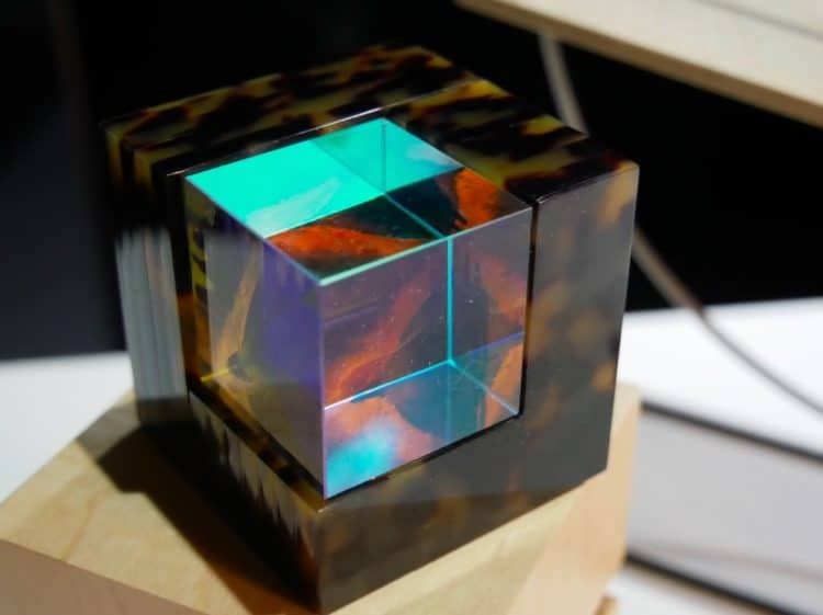 cube realité augmentée art waimer