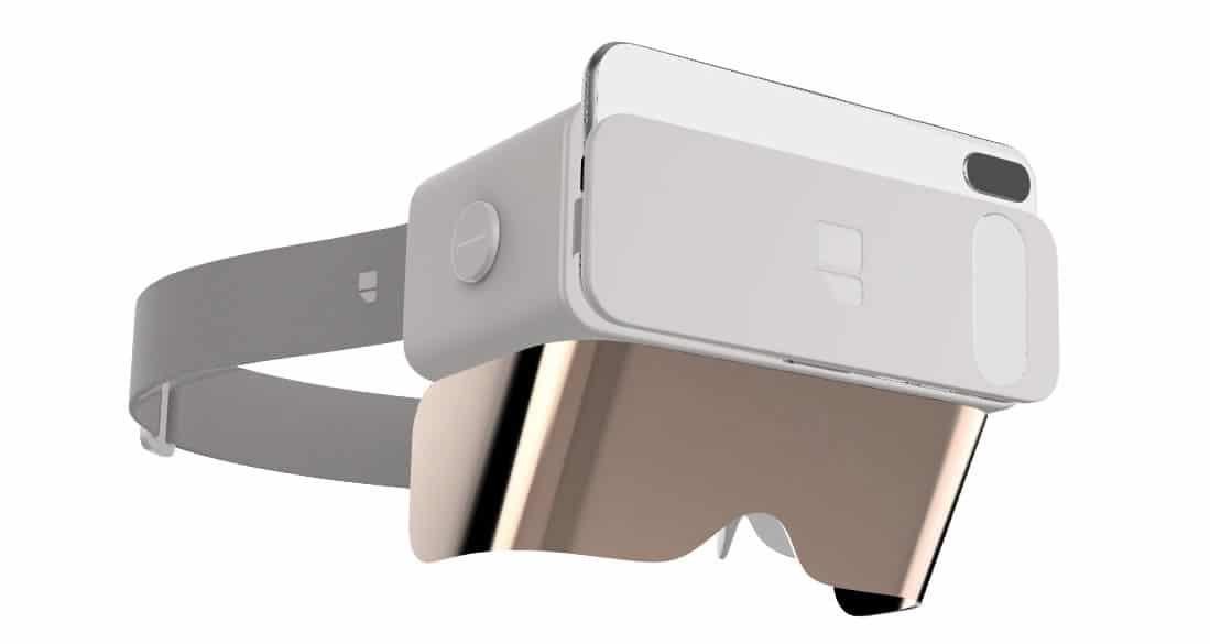 Ghost casque réalité augmentée smartphone