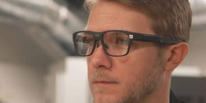 Intel Vaunt lunettes intelligentes