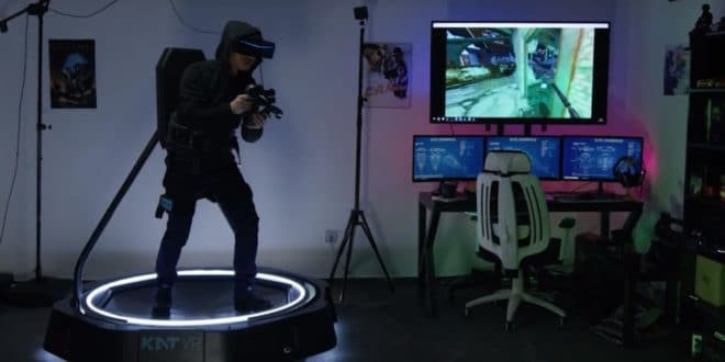 kat vr mini tapis roulant ready player one