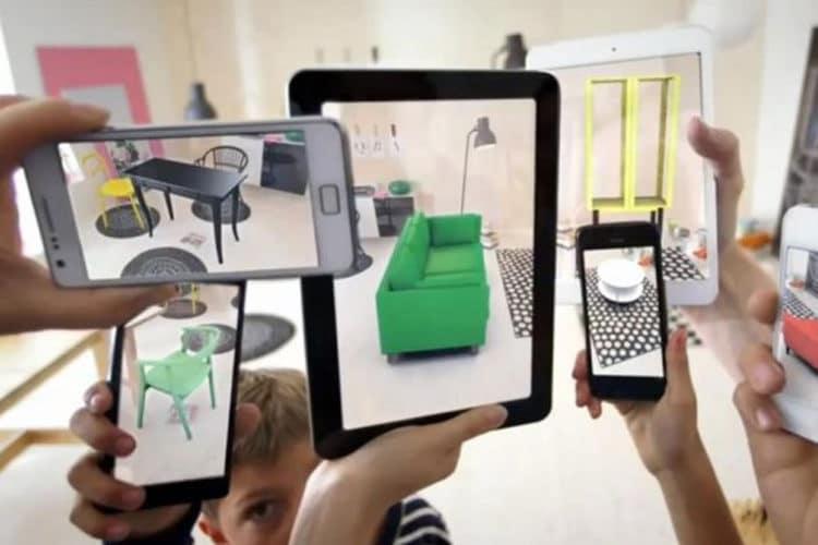 Meilleures applications utiles et pratiques en réalité augmentée sur iOS Android smartphone AR