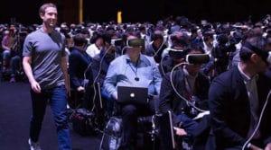 Oculus données personnelles Facebook
