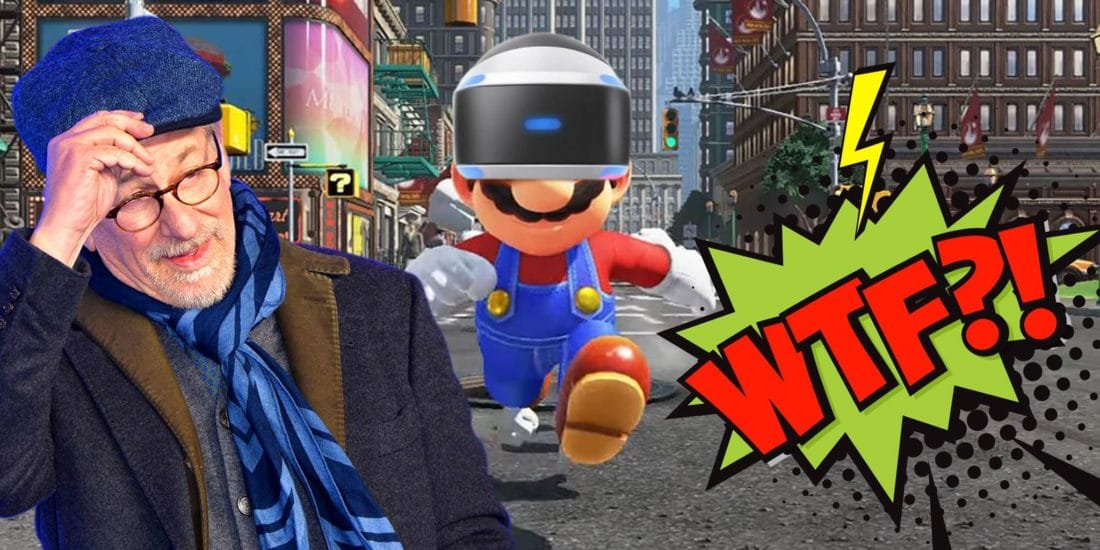 Steven Spielberg affirme avoir joué à Super Mario sur PSVR