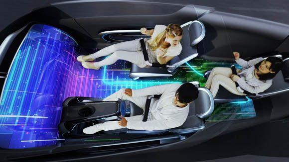 voiture futur écran