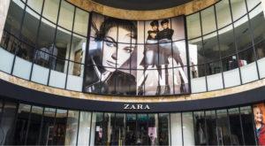 Zara expérience en réalité augmentée