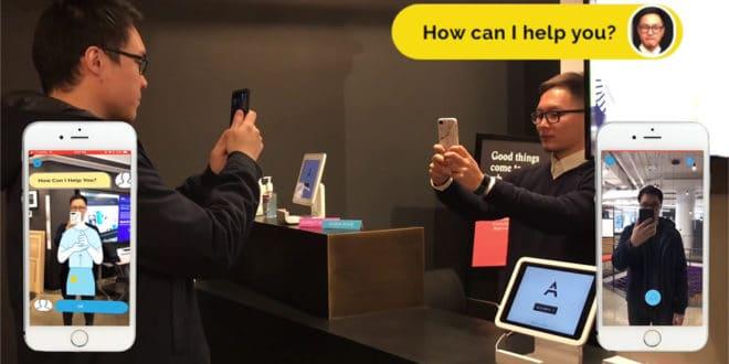 ARSL application en réalité augmentée qui traduit la langue des signes en temps réel