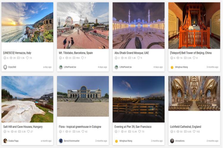 Gala - 360 logiciel meilleure application pour Oculus Go