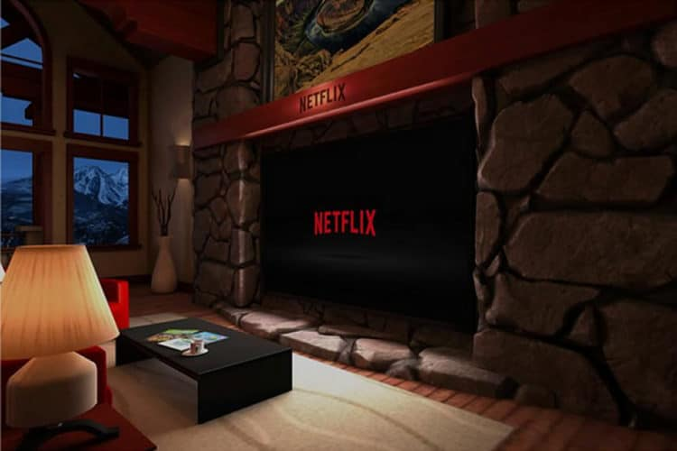 Netflix 360 app Oculus Go