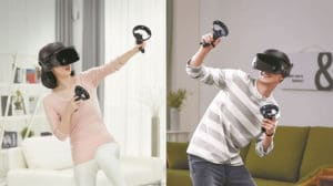 Samsung casque réalité virtuelle augmentée Apple