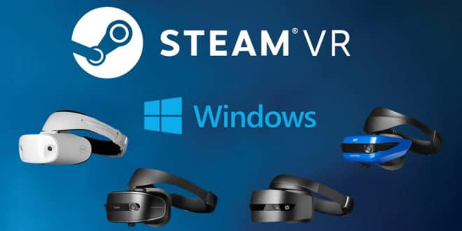 Steam VR Windows Mixed Reality