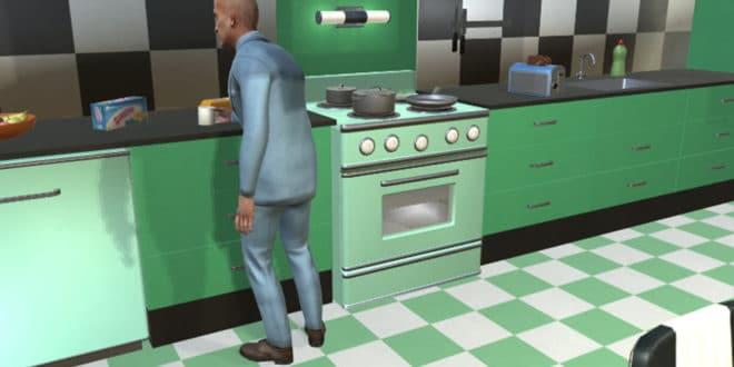 virtualhome ménage vr mit robots ia