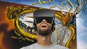 Joueurs réalité virtuelle Oculus