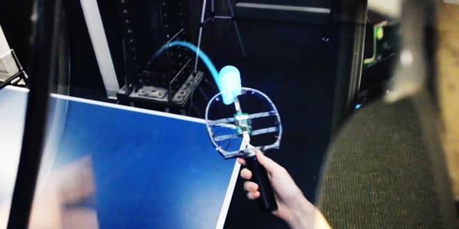 Leap Motion démonstration casque réalité augmentée North Star