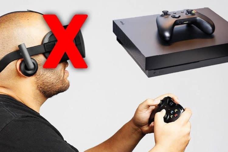 Pas de VR sur Xbox
