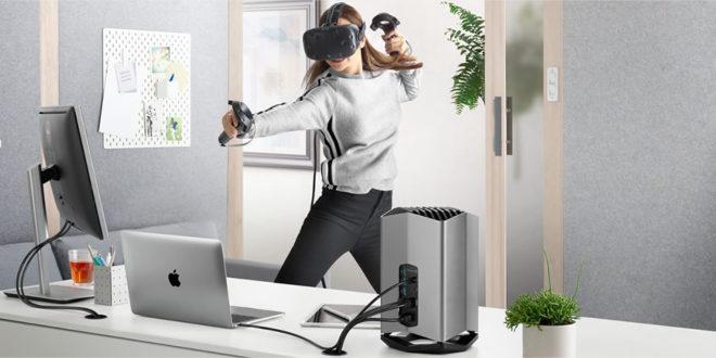 Carte graphique externe pour MacBook réalité virtuelle Blackmagic VR