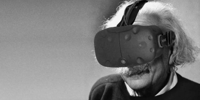 Einstein réalité virtuelle