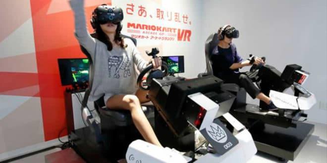 Mario Kart Arcade GP VR Londres
