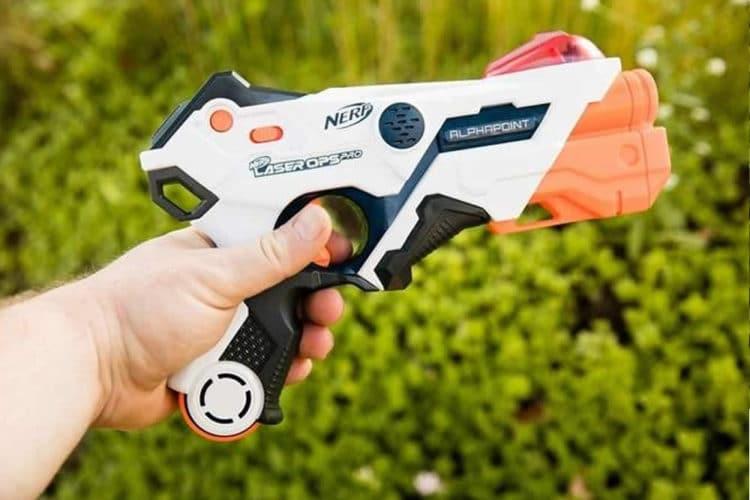 Nerf pistolet laser jouet en réalité augmentée Hasbro
