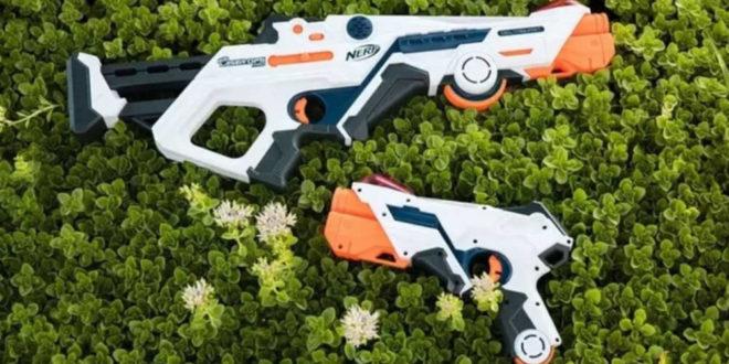 Nerf pistolet laser jouet en réalité augmentée