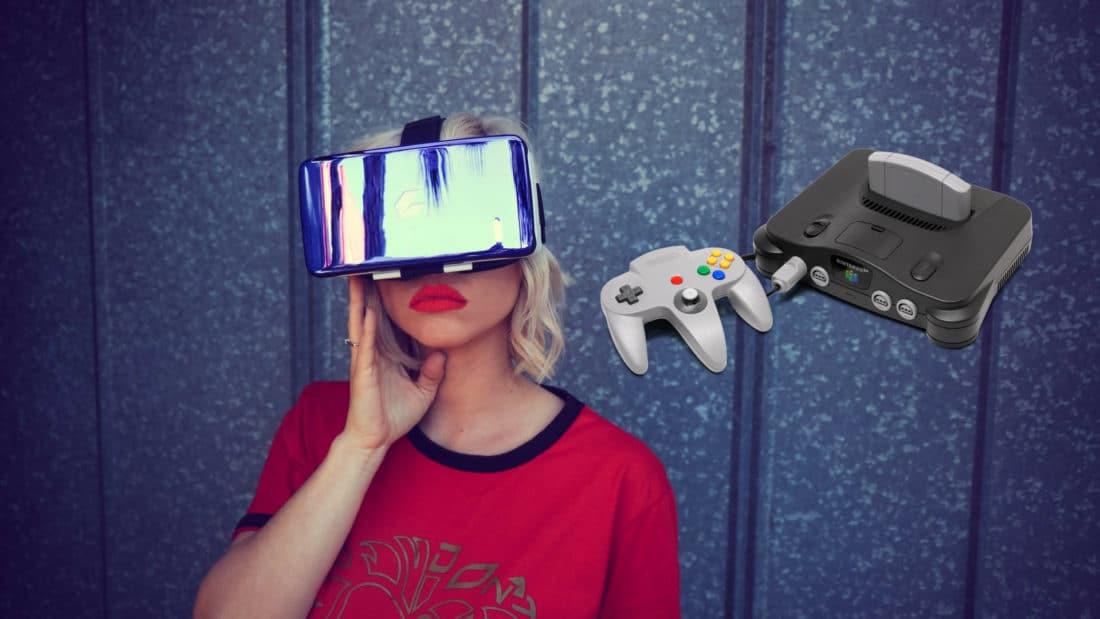 nintendo 64 VR émulateur