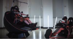 Feel Three simulateur mouvements en réalité virtuelle