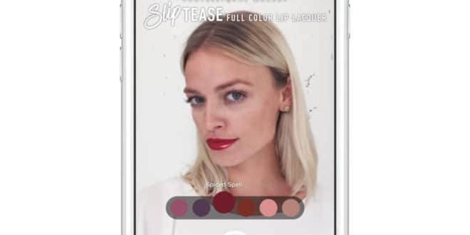 Modiface L'Oréal Facebook maquillage réalité augmentée