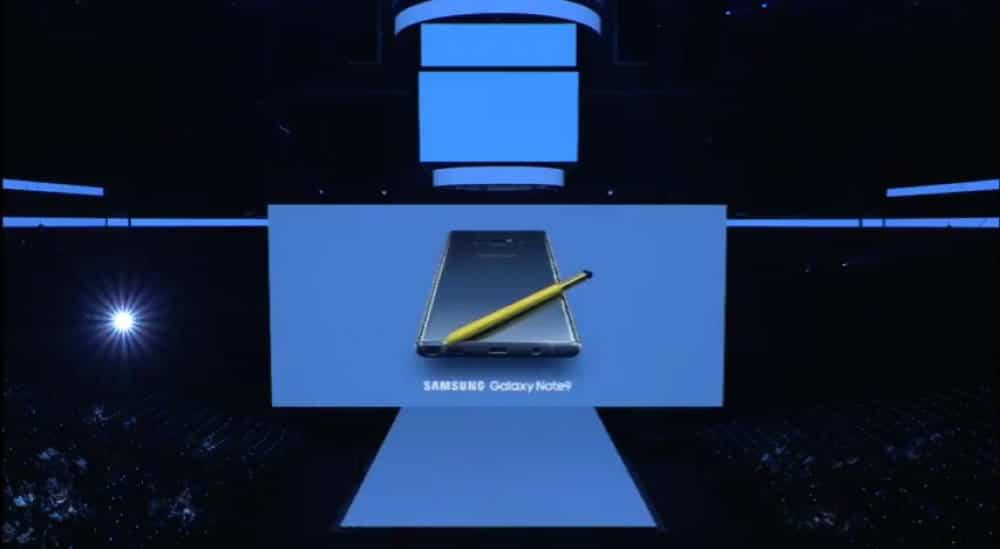 Samsung Galaxy Note 9 meilleur smartphone pour Gear VR