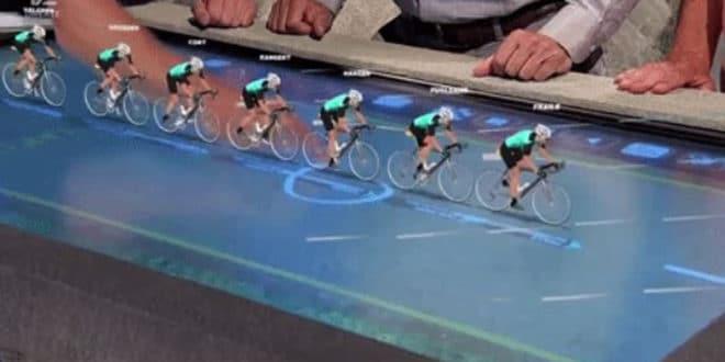 Tour de France en réalité augmentée