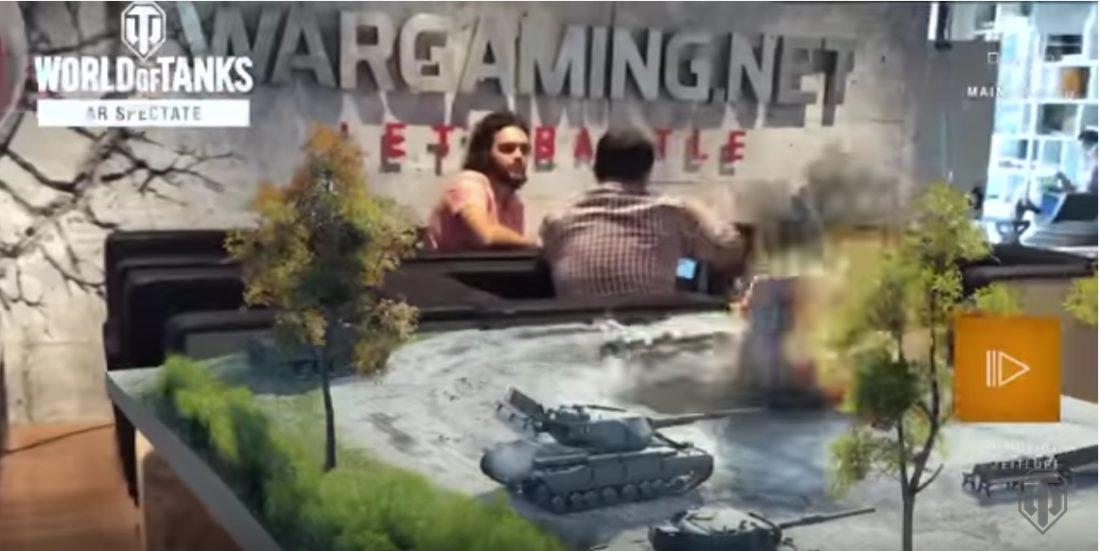 world of tanks ar