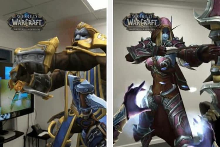 World of Warcraft filtres snapchat