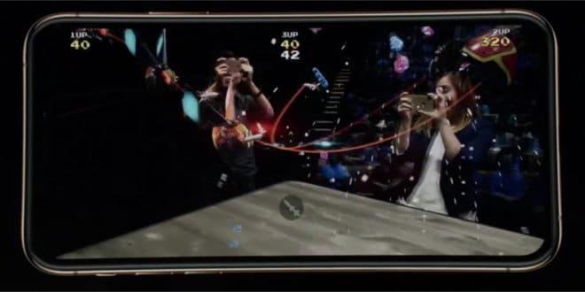 A12 Bionic réalité augmentée ARKit 2 Apple