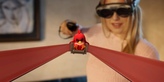 magic leap one angry birds fps
