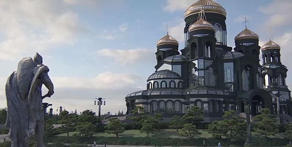 Cathédrale russe Game of Thrones VR réalité virtuelle