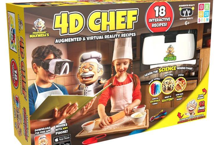 Cuisiner en réalité mixte