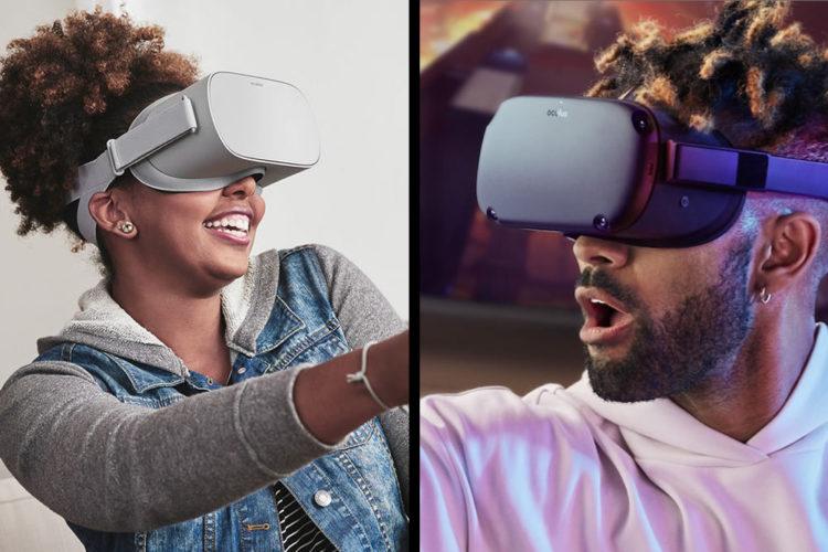 Différences entre les casques de réalité virtuelle Oculus Go et Oculus Quest