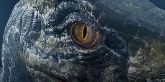 Dinosaure en réalité augmentée Facebook
