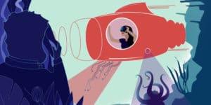 Expérience Jules Vernes en réalité virtuelle à Nantes