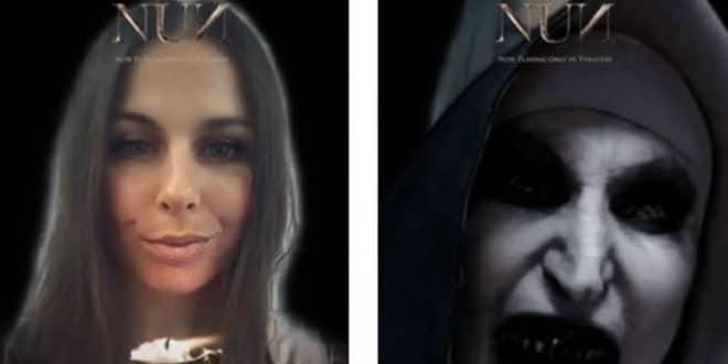 Expérience réalité augmentée La Nonne